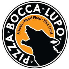 Pizza Bocca Lupo Logo for the mobile version of this website